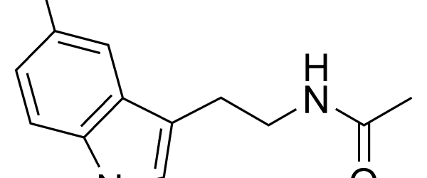 chemical structure of melatonin